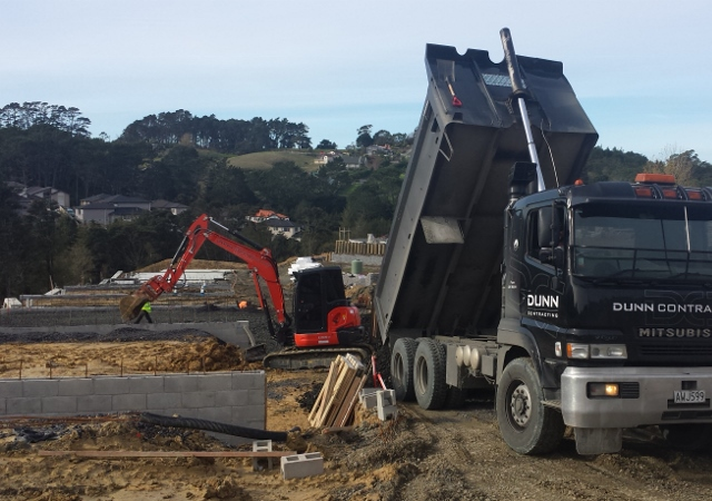 excavation for new builds