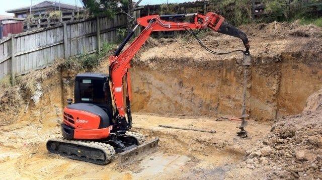 Machinery Hire: Drilling Equipment 12 Meter Depth Capability
