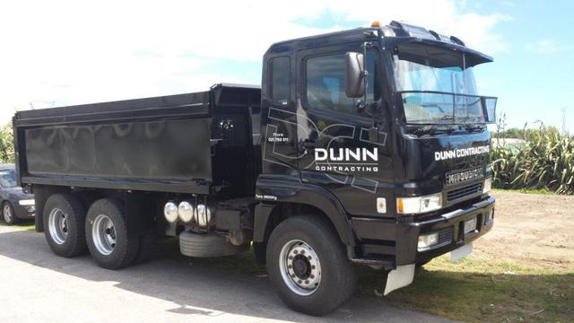 Machinery Hire: Fuso Tip Trucks 11 Tonne Payload