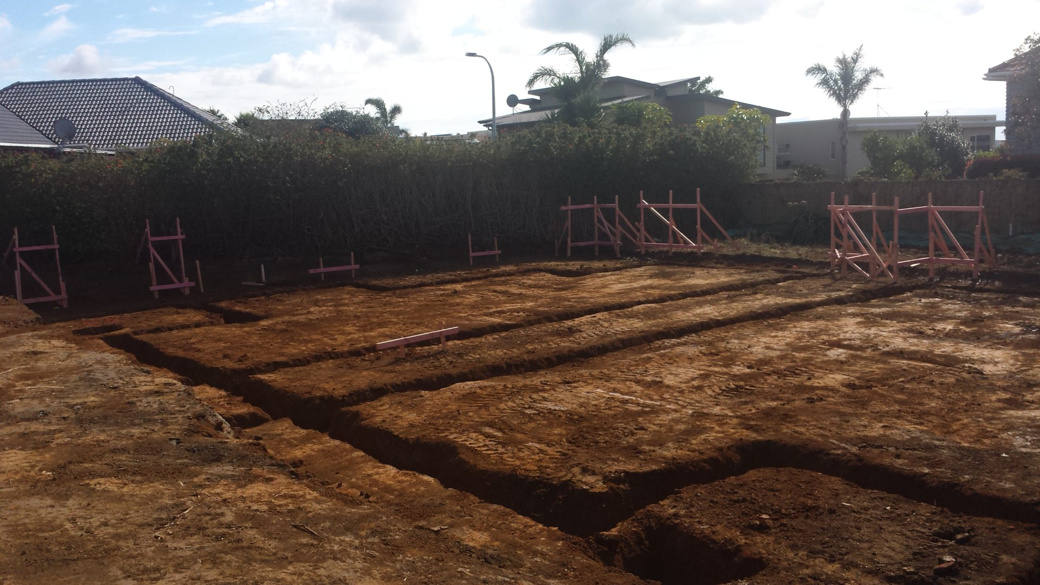 Footings & Earthworks - Dunn Contracting
